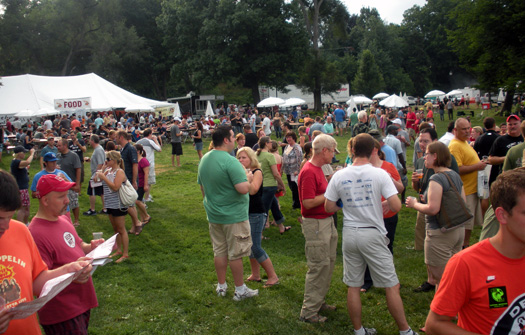 Recap from the 14th annual michigan summer beer festival for Michigan craft beer festival