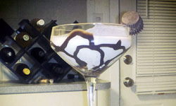 Chocolate Peanut Butter Martini